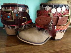 Women's Hipster Boho Boots- Made to Order