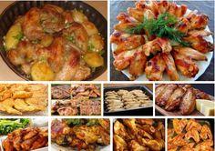 Готовим куриные крылышки — 10 лучших рецептов! | NashaKuhnia.Ru