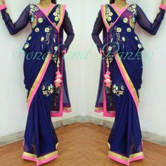 Designer Drapes-By Sonal Daga. Contact : Call 096691 66763. Email : scarletmapleboutique@gmail.com. 09 November 2016