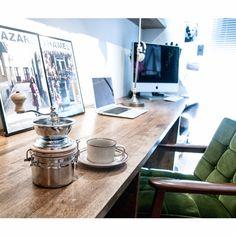 カリモク/HOYA/バールコーヒーミル/コーヒーのインテリア実例 - 2015-07-01 22:45:34   RoomClip(ルームクリップ)