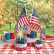 Patriotic Flag Display Idea Look No Further For The Perfect 4th Of July Decorations