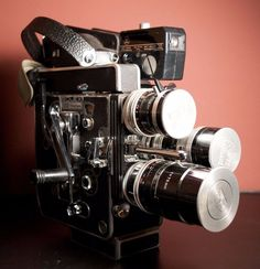 Vintage Bolex H 16 Reflex Rex 5 16mm Movie Camera w Lens | eBay