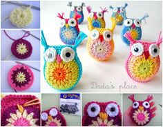 DIY Crocheted Owls Free Patterns4
