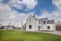 mckenna + associates - Contemporary House Design - Registered Architects & Chartered Building Surveyors House Designs Ireland, Dormer Bungalow, Cottage Extension, Farmhouse Renovation, Bungalow House Design, Cottage Plan, Architect House, House Extensions
