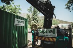 Secure your supplies on site in a spacious storage container. Weatherproof, vandalproof and rust-free with wooden floors. Available from only R600 per month. Shipping Container Conversions, Rust Free, Wooden Flooring, Storage Containers, Floors, Transportation, Delivery, Construction, Trucks