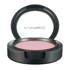 Powder Blush: MAC - Powder Blush (Satins). Powder Blush presents almost 50 shades, from the palest pinks and peaches to the deepest browns and plums. The vast palette is divided into five finishes and two formulas. The Satins feel silkier than the Mattes or Frosts and have good pigmentation with less tendency to grab.