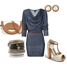 cozy in brown, created by rkw6 on Polyvore