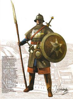 Croatian foot soldier fromZara