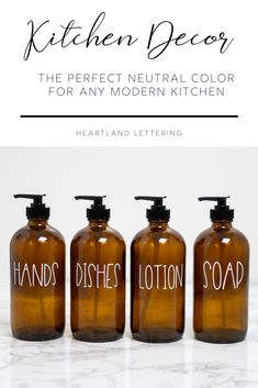Custom Soap and Lotion Bottles