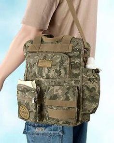 Military Daddy Men's Sporting Camo Baby Shower Macho Diaper Shoulder Bag Gift | eBay