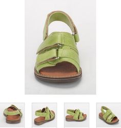 #Children's #Cherie #Sandals - Green #Leather #Kids Shoes. http://www.rinastore.com/1708-cherei-sandals-green/dp/2308   #MadeInItaly Available at Rina's #Italian #Shoe #Boutique. On Sale Now!