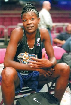...Sheryl Denise Swoopes was born in Brownfield, Texas, and won an NCAA championship with the Texas Tech Lady Raiders. She was the first player signed with the WNBA when it was first created. For good measure, she's also won three Olympic gold medals.