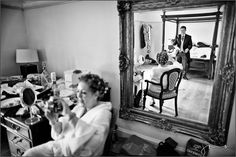 Love working with mirrors... allows you to tell even more of the story.