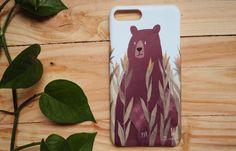 coque pour iPhone dimpression de haute qualité avec ours maïs