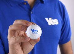 Yes Golf ball and Tee set  Was £9.99 Now £8.99  #indyref #Scotland #Yescampaign #Golf #Golfballs #Teeset