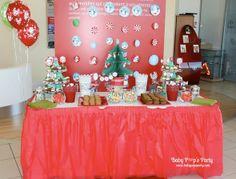 Sweet table Merry Christmas - Arbre de noël Toyota - www.babypopsparty.com/en-image Birthday Cake, Sweet, Toyota, Party, Desserts, Image, Christmas Trees, Noel, Children
