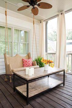 Swing - Erie custom home, GA. TerraCotta Properties.