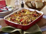 Gemüse-Schnitzel-Auflauf Rezept