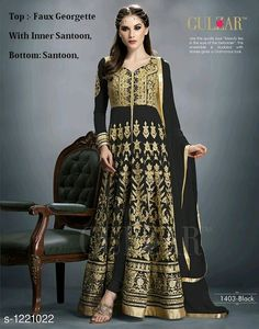 8efb27097c1 Party wear Suits  amp  Dress Materials  Baisakhi Designer Embroidery Women s  Salwar Suits .
