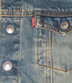 HANDSOME and RUGGED little boy Levi's jean jacket.  #jeanjackets #levis