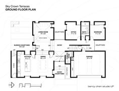 Sky Crown Terraces,Ground Floor Plan