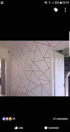 47+ ideas for wall painting designs with tape headboards #painting #wall