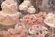 Festa   Flores Rosa   Decoração
