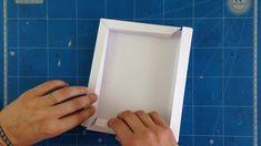 Tuto cadre 3D en papier scrap