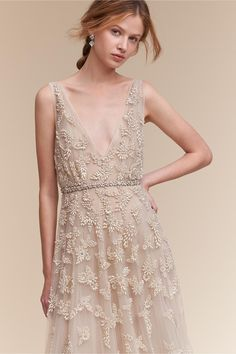 pearls | Kai Gown from BHLDN
