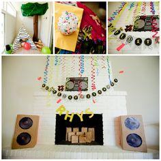 80's party eventologyevents.blogspot.com, elysehall.com