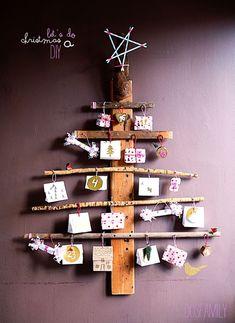 Kerst 2014 – Een moderne kerstboom maken & versieren