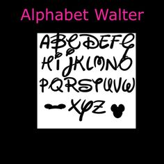 Alphabet Book Fold PATTERN~Patterns to create your own folded book words-WALTER