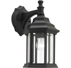 View the Forte Lighting 1715-01 Outdoor Wall Sconce from the Exterior Lighting Collection at LightingDirect.com.