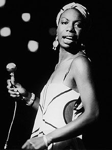 Nina Simone, the very first song I heard was feeling good when I was in highschool. I couldn't begin to explain how it made me feel.