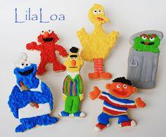 LilaLoa: Sesame Street in cookies