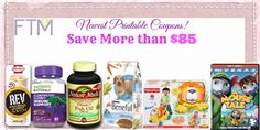 Newest Printable Coupons