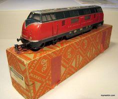 Marklin 3021 rare first version from 1957 | My Marklin