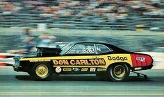Vintage Drag Racing - Dodge Demon - Don Carlton Funny Car Drag Racing, Nhra Drag Racing, Funny Cars, Auto Racing, Thing 1, Bugatti Chiron, Drag Cars, Car Humor, Vintage Racing