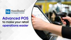 Worried about your customers standing in long queues for manual and tedious payment procedures? With #HostBooks #POS software, you have the option of scrutinizing your purchases, total cost, and make customer payments process in a better way. #POSSoftware #Pointofsale #POSSolution #POSSystem #SmallBusinesses #BusinessKaAllrounder Total Cost, Point Of Sale, Accounting Software, Pos, Manual, Business, How To Make, Textbook, Store