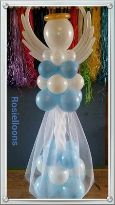 Lovely balloon angel