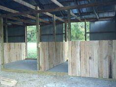 DIY: Pferdeboxen - dream home barn -