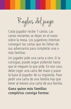 """Reglas del juego """"7 Familias reales de España"""""""