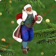 2000 Joyful Santa #2 Hallmark Ornament at Hooked on Hallmark Ornaments - QX6784
