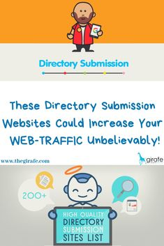 These Directory Submission Websites Could Increase Your WEB-TRAFFIC Unbelievably! Mail us: letstalk Contact : 985 50 858 88