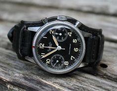Der Bundeswehr chronograph von Hanhart.