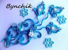 Наталія Bynchik Irish lace Бондаренко - Мои мастер-классы к моим авторским изделиям | OK.RU