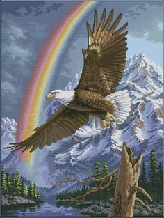 Dimensions 35020 The Promise Bald Eagle