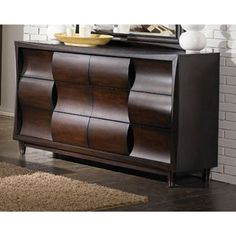Magnussen Fuqua Wood 6-drawer Dresser