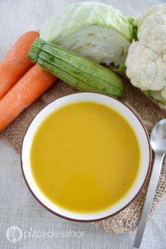 Crema de verduras www.pizcadesabor.com