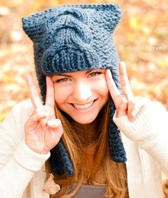 Knitting Pattern PDF for The Dragon Slayer Earflap Helmet Hat